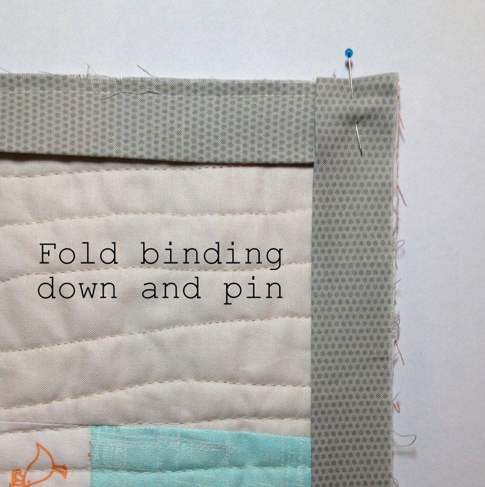 Quilt Binding Tutorial, Quilt