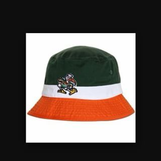 premium selection db99d afa24 UM Tri Bucket Hats.  theU  buckethat  canesfootball
