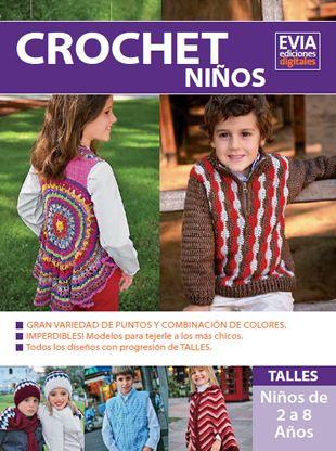 Crochet Niños descarga esta revista en www.eviadigital.com #crochet