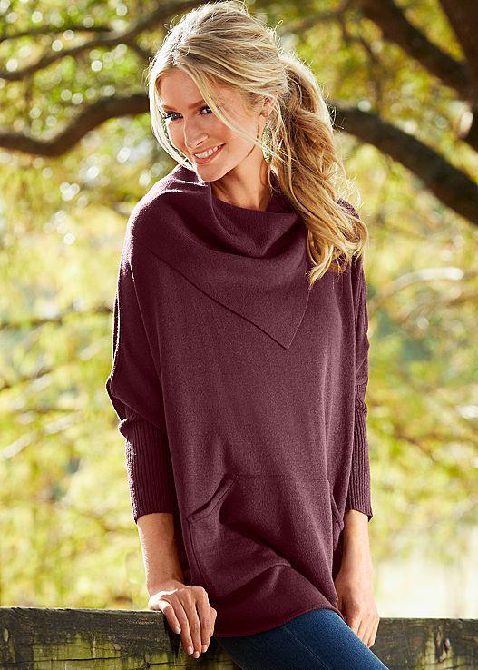 8a7ab0d7c0c5d Fold Over Sweater. I own this and it s incredibly comfortable ...