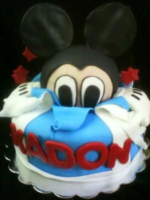 Mickey Mouse Birthday Cake Mickey Mouse Birthday Party Mickey Mouse Birthday Cake Mickey Mouse Birthday