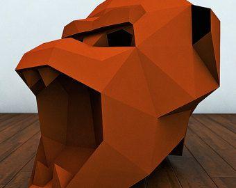 panther masks panther papercraft papercraft 3d mask animal mask