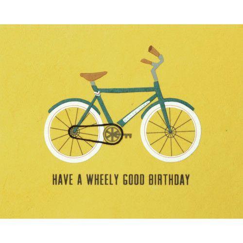 Wheely Good Birthday Card - Philippines