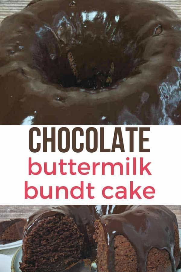 The Best Buttermilk Chocolate Cake You Make In One Bowl Video Recipe Buttermilk Chocolate Cake Bundt Cakes Recipes Bundt Cake