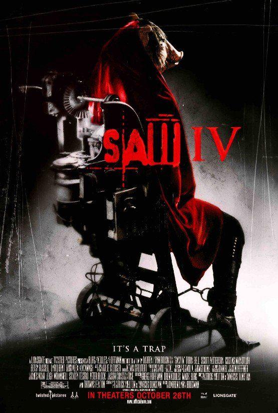 Saw Iv 2007 Filmes De Terror Cartaz De Filme E Filmes