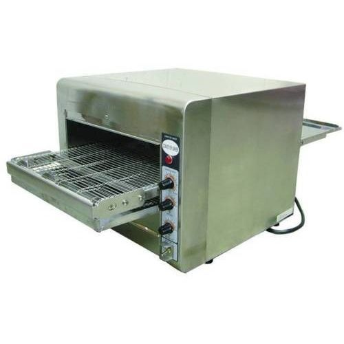 Commercial Kitchen Stainless Steel Countertop Pizza Conveyor Oven