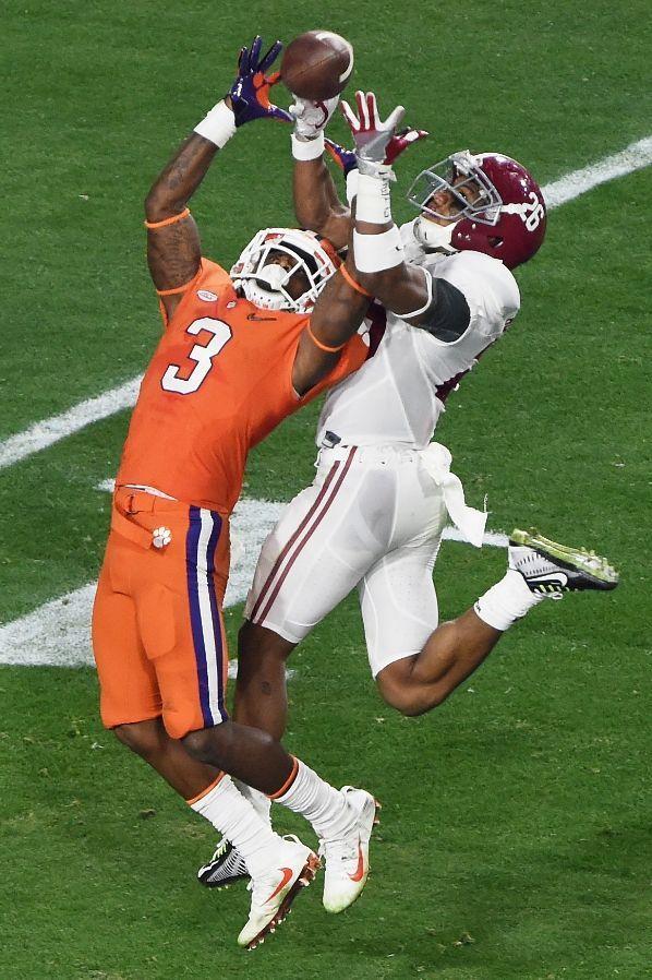 Clemson Football Tigers Photos ESPN Alabama crimson