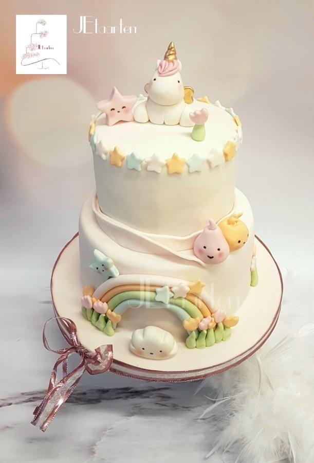 Babys First Birthday Cake With Smashcake By Judith Jetaarten Fancy