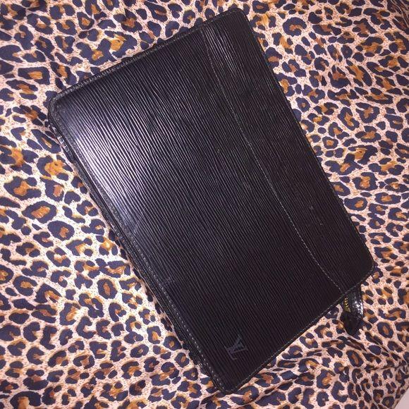 5be225f6c419 Louis Vuitton Pochette Black Epi Leather Clutch Authentic Louis Vuitton  Pochette Homme Black Epi Leather Clutch