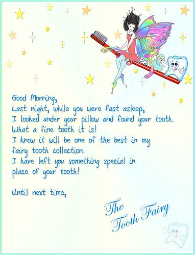 Tooth fairy letter 1 pinterest tooth fairy teething and fairy spiritdancerdesigns Image collections