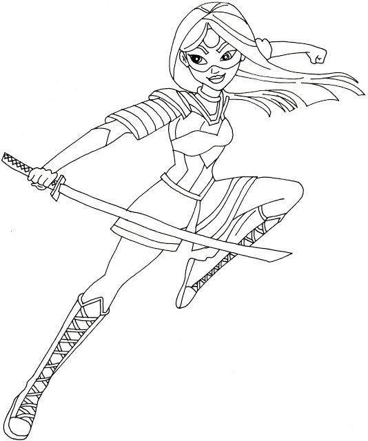 Epingle Par Coloring Fun Sur Super Hero Girls Coloriage Super Heros Coloriage Coloriage Princesse Disney