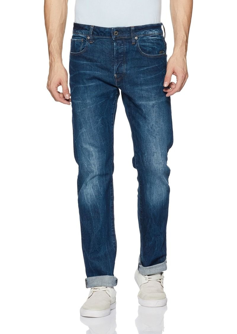 6eb644d85d9 G Star Raw Denim G-Star Raw Men's Defend Straight-Fit JeanAccel Stretch  Denim
