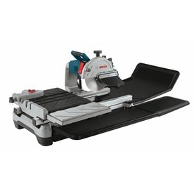 Bosch 10 In 1 4 Hp Wet Bridge Sliding Table Tile Saw Lowes Com Tile Saw Best Cordless Circular Saw Bosch