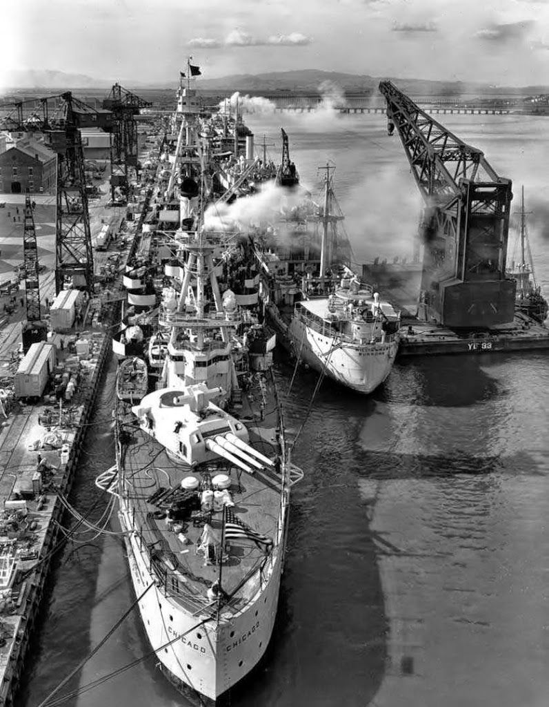 USS Chicago (CA-29) was a Northampton class heavy cruiser of the United States Navy that served in the Pacific Theater in the early years of World War II.