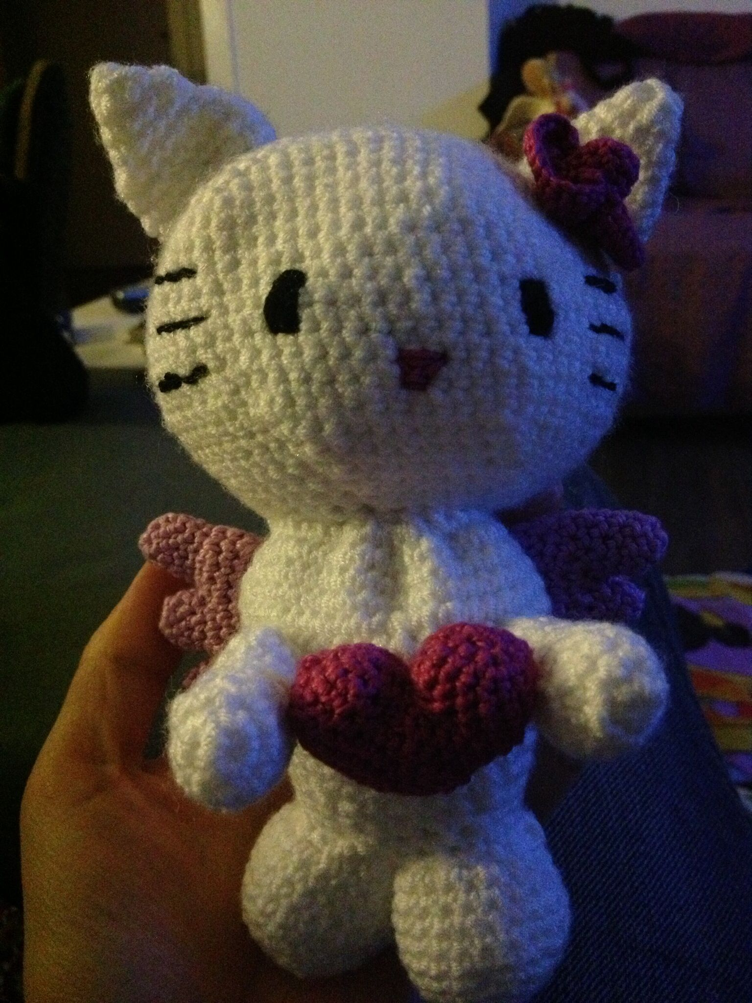 Kitty Angel Pattern Nadelspielcom Häkeln Crochet Pinterest