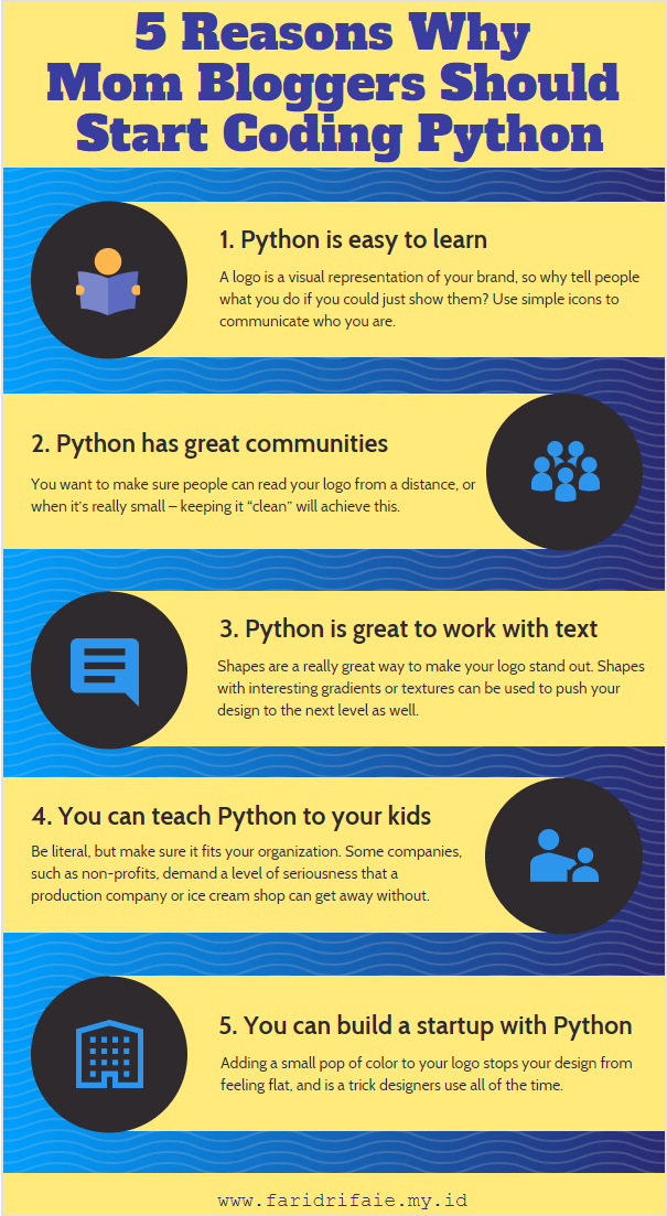 5 Reasons Why Mom Bloggers Should Start Coding Python Coding Start Coding Learn To Code