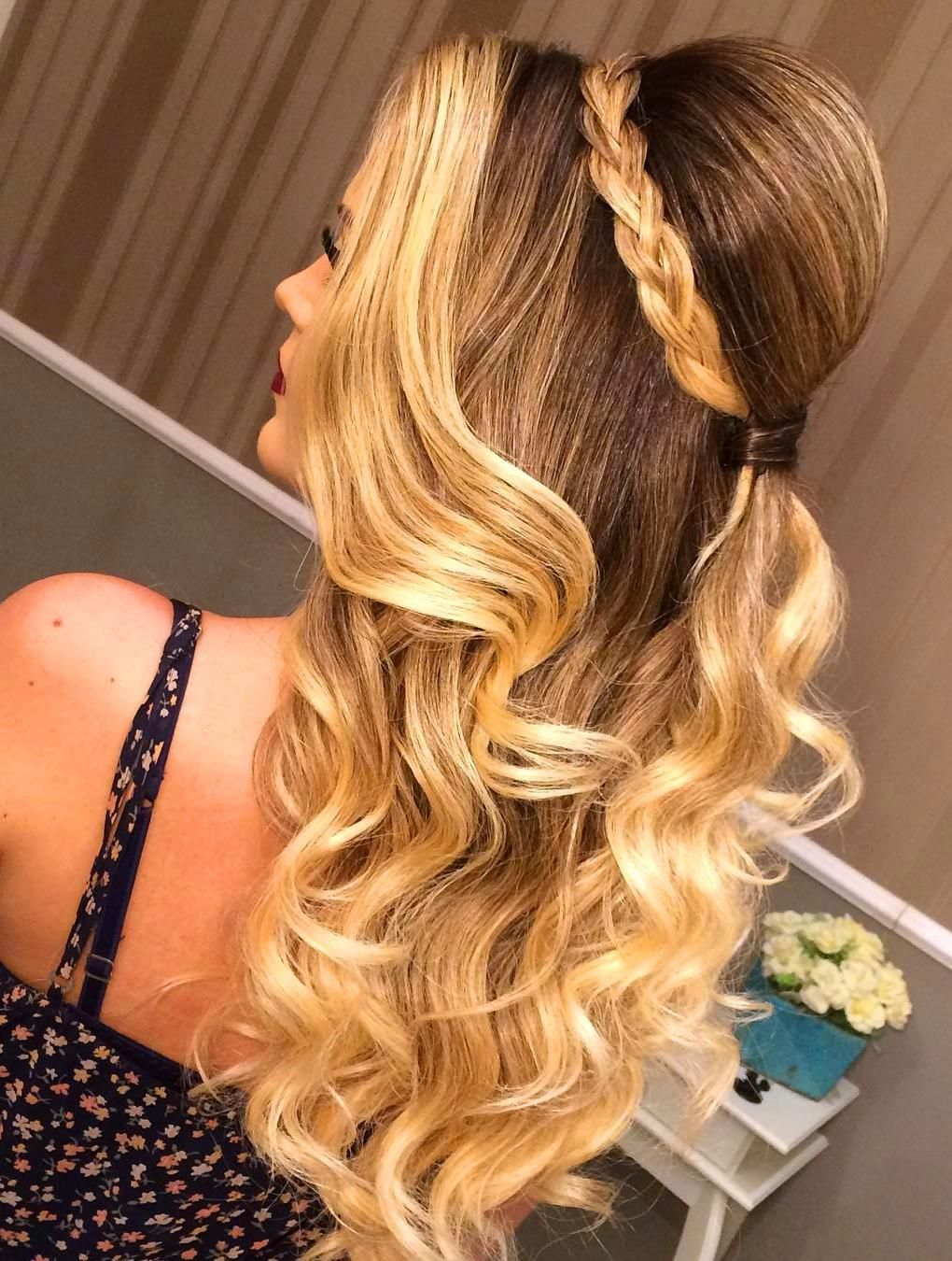 50 Cute Hairstyles For Girls Hair: Casual And Prom Looks | Hair styles, Girl hairstyles, Hair