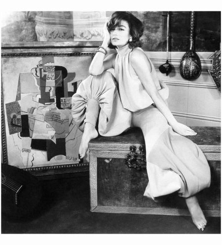 Anouk Aimée 1965 - Photo Henry Clarke