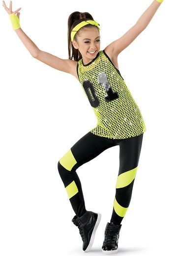 249f6000be93 ... dance costumes for class and stage performances. Weissman™ | Sequin  Mesh Tank & Unitard