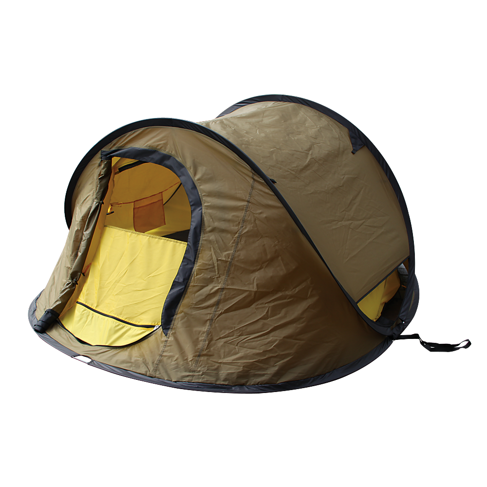 3 Person Pop-Up Tent. Zippered door and windows. u201cNo-see-umu201d mesh. Taped seams to keep the moisture out. Sets up in seconds. x x Sleeps 3 persons.  sc 1 st  Pinterest : cheap 1 man pop up tent - memphite.com