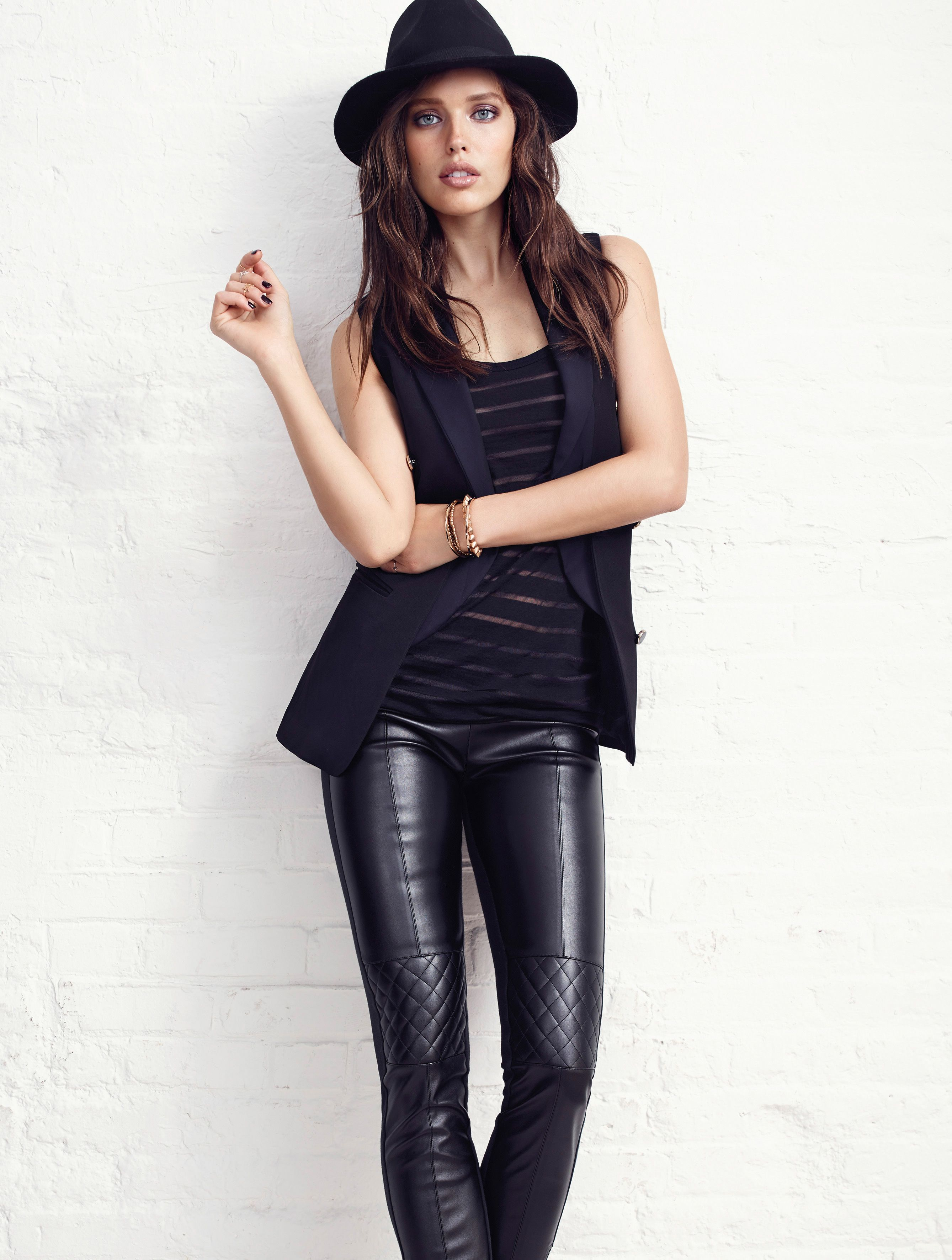 Spring Summer Munro Riley Womens Black Leather Autumn / Winter 2016 wholesale