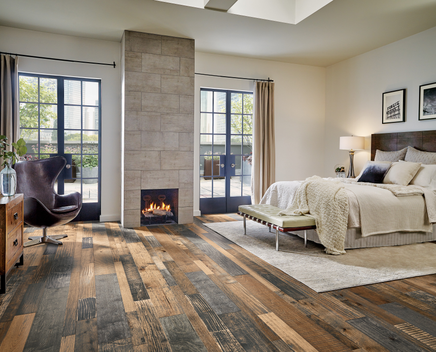 Rustic Flooring from Armstrong Flooring Reclaimed wood