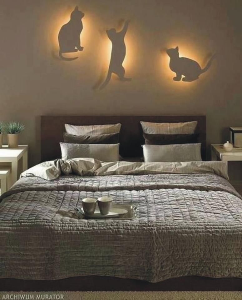 These Are Cool And I Think It Could Be Done On A Budget How About Carving Out Your Own Put Battery Operated Ligh Bedroom Diy Cat Bedroom Bedroom Decor Lights
