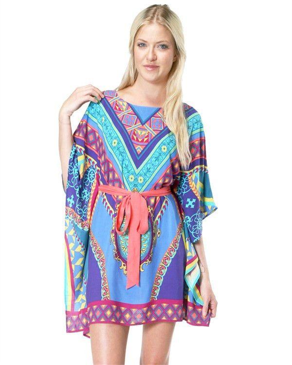 The {Baha Coral Print} Dress