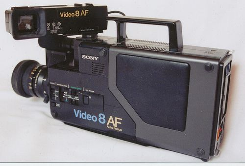Vintage Sony CCD-V110 Video 8 8mm Pro Camcorder | Retro Sony