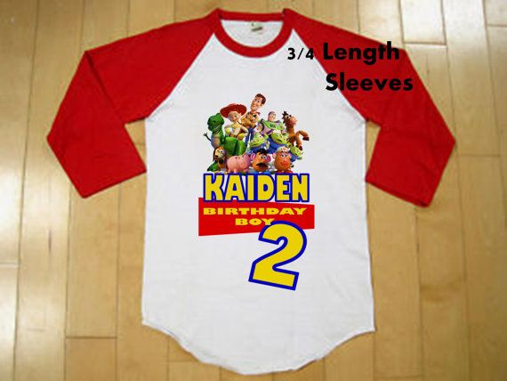 e95d8b2d78c94 Toy Story Birthday Shirt Boys Toy Story by BirthdaysGalore   evie's ...