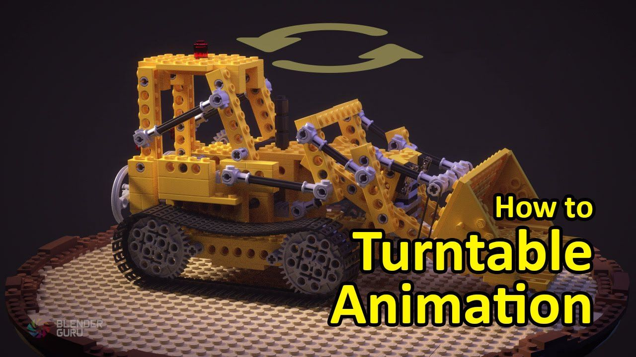 Blender Tutorial How to Make a Turntable Animation
