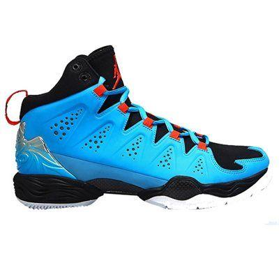 Jordan Melo M10 Basketball Shoe - Dark Powder Blue/Team Orange/Black/White