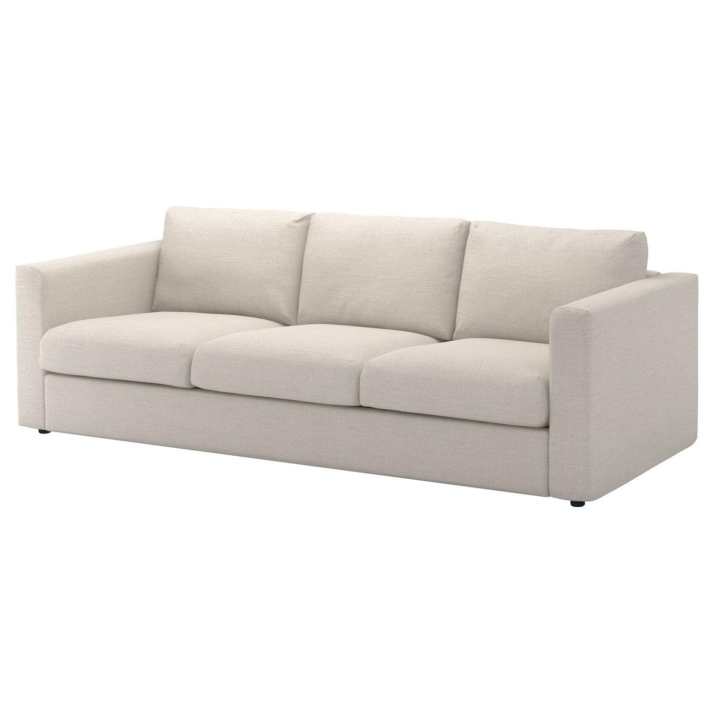 Vimle Bezug 3er Sofa Gunnared Beige Ikea Osterreich Bettsofa 3er Sofa Und Sofa