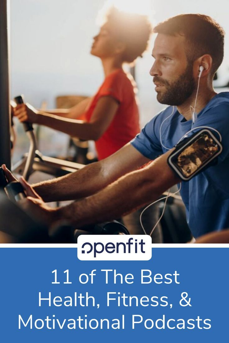 Health and fitness podcasts are an easy, convenient resource to help you stay on-track. You can list...