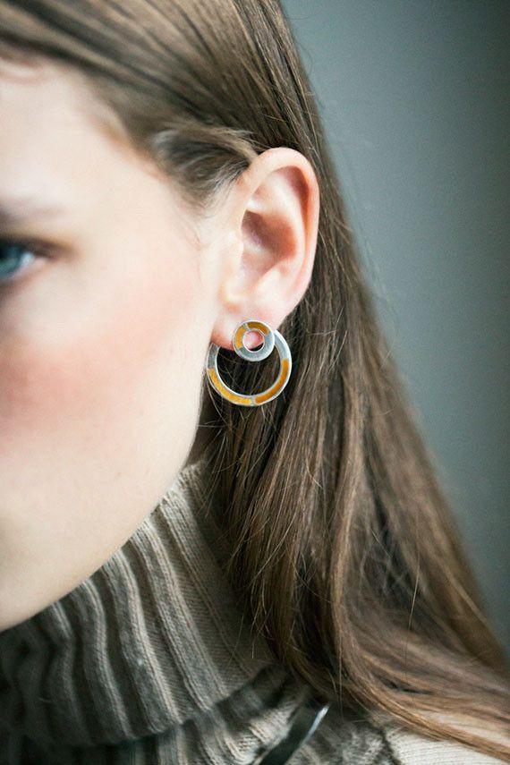 Pamela Love Tiger S Eye Quarter Earrings Bona Drag