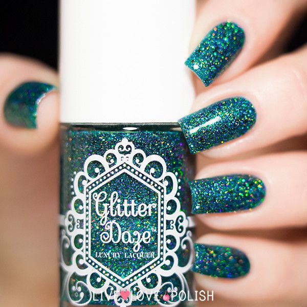 Glitter Daze The Wicked Witch Of West Nail Polish