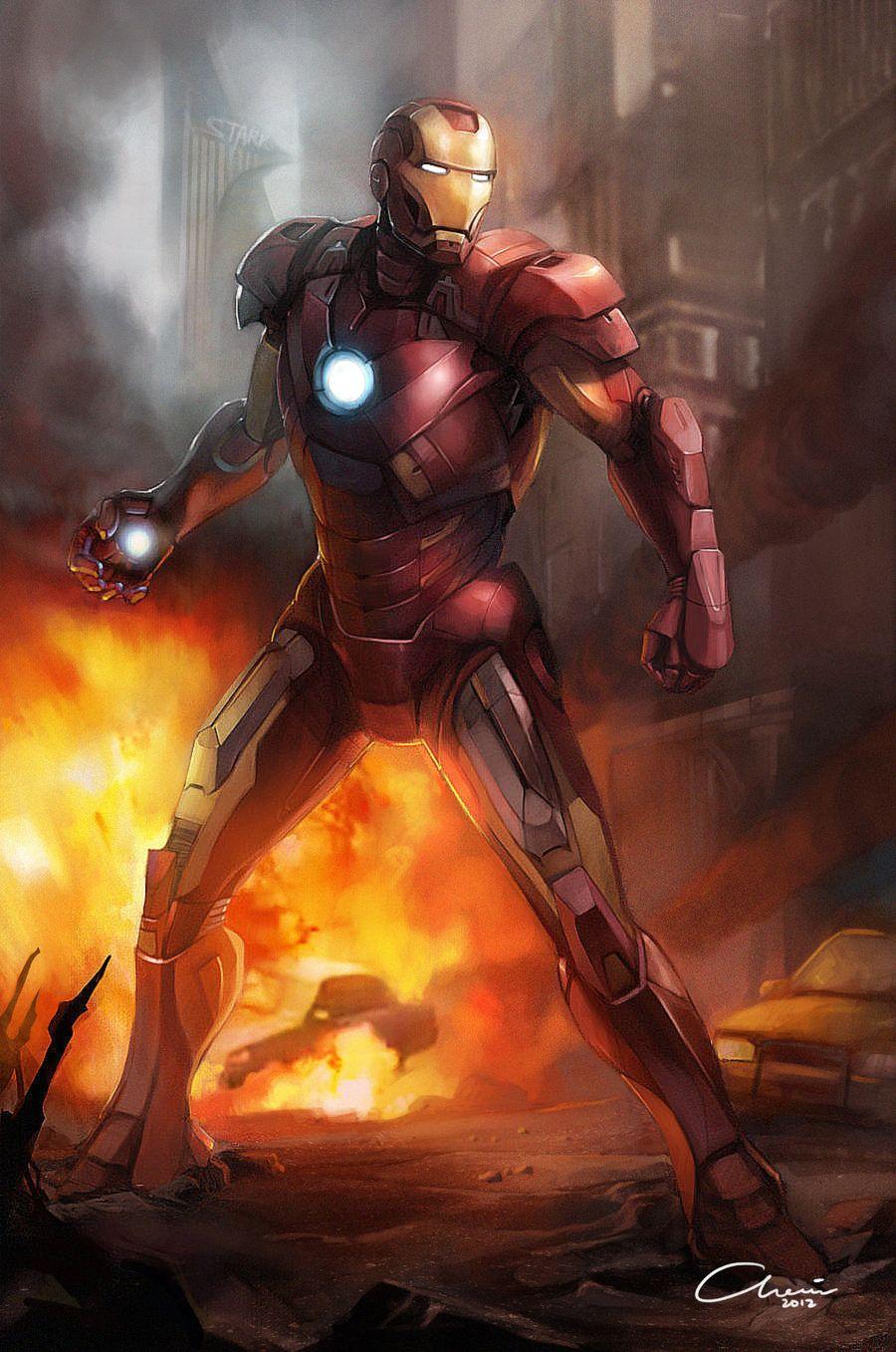 Ironman Mark 7 by Chairgoh.deviantart.com on @deviantART ...