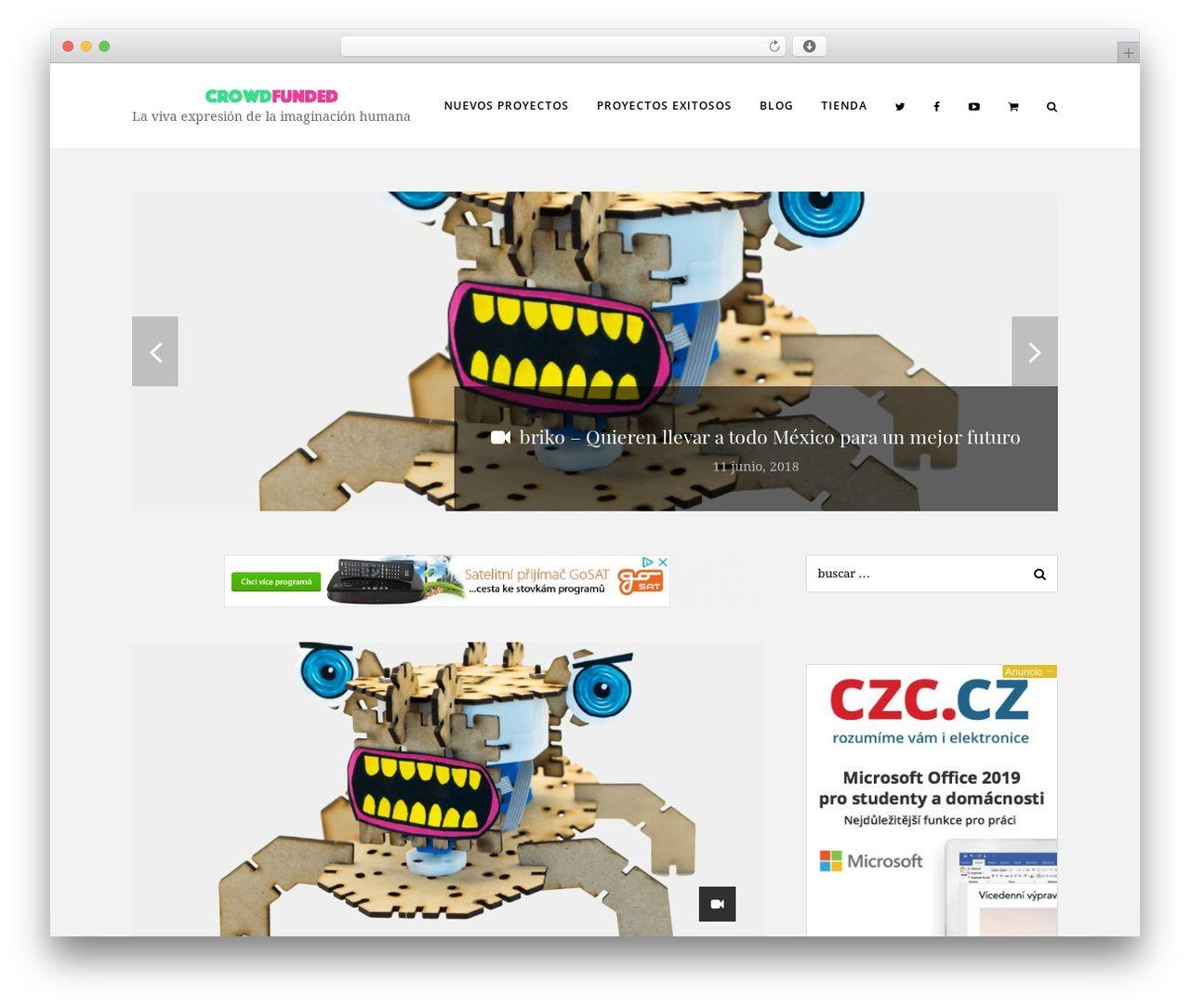 Chic best WordPress template