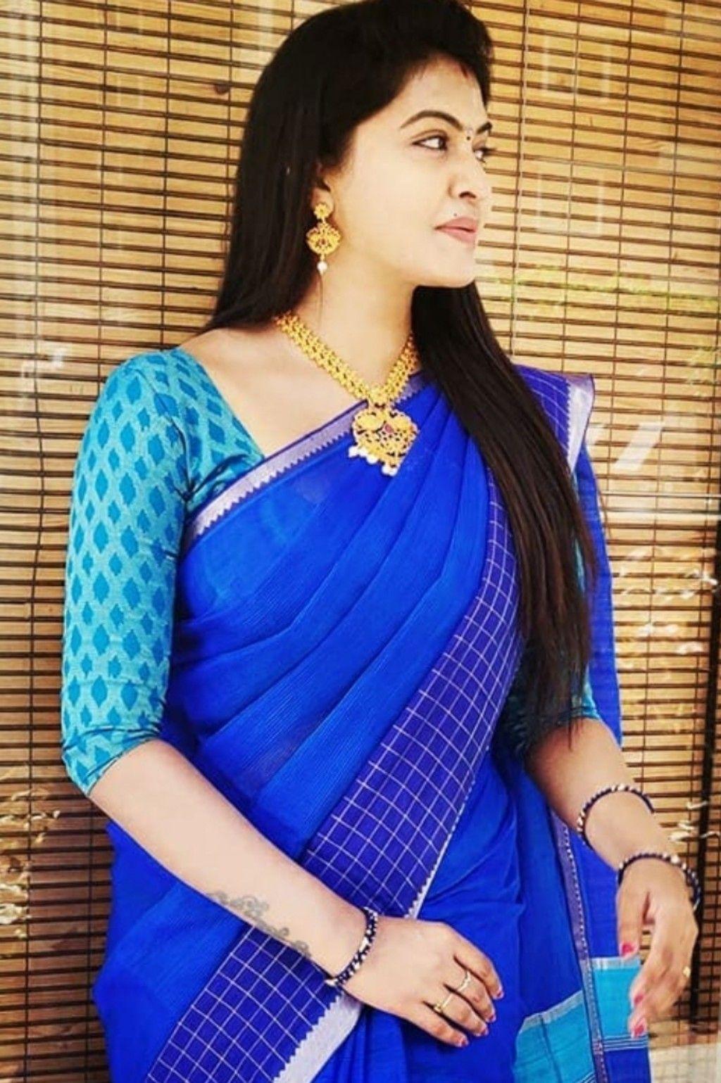 Wedding saree indian image by Actress Gallery on Rachitha | Saree styles, Beautiful saree