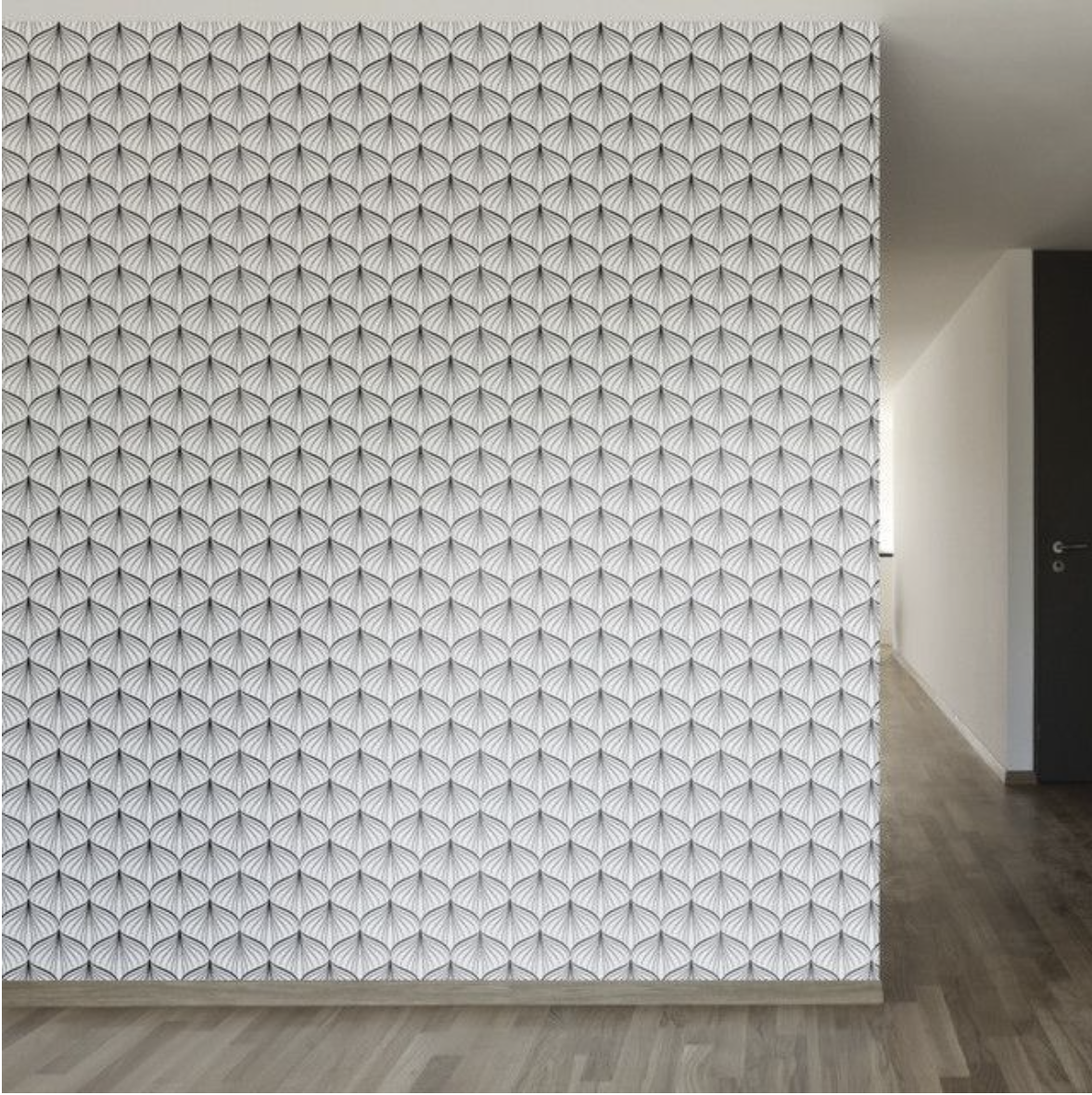 Michaelis Removable Wallpaper Removable wallpaper, Black