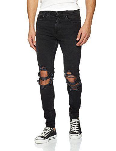 New Look Busted Knee, Vaqueros Skinny para Hombre