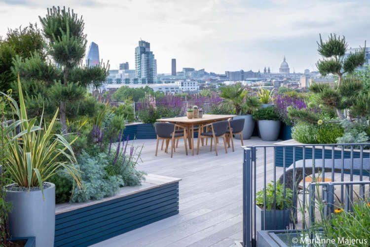 Garden Club London Millboard Decking Roof Garden Design Garden Design London Urban Garden Design