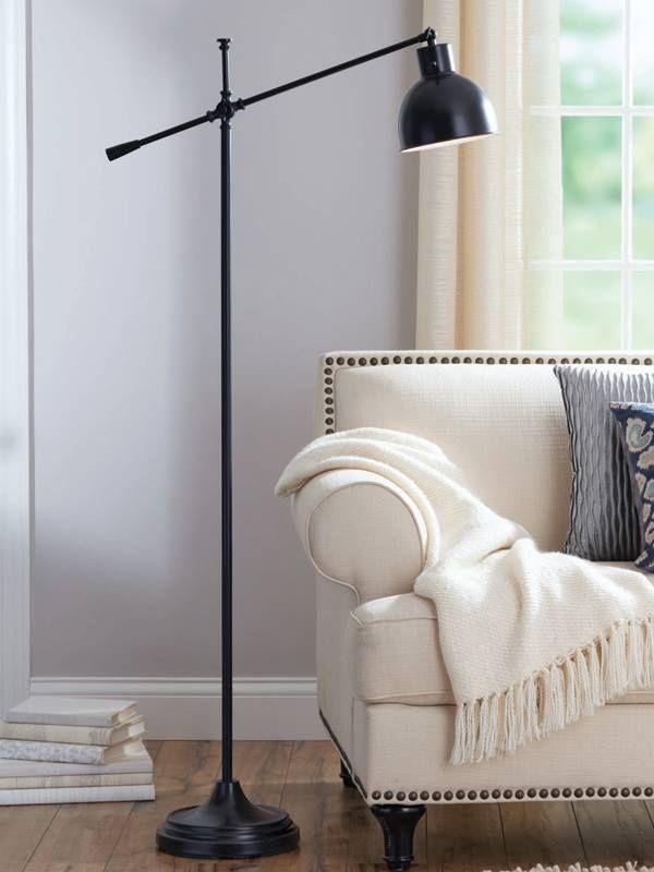 Better homes and gardens hinged floor lamp bronze finish walmart com