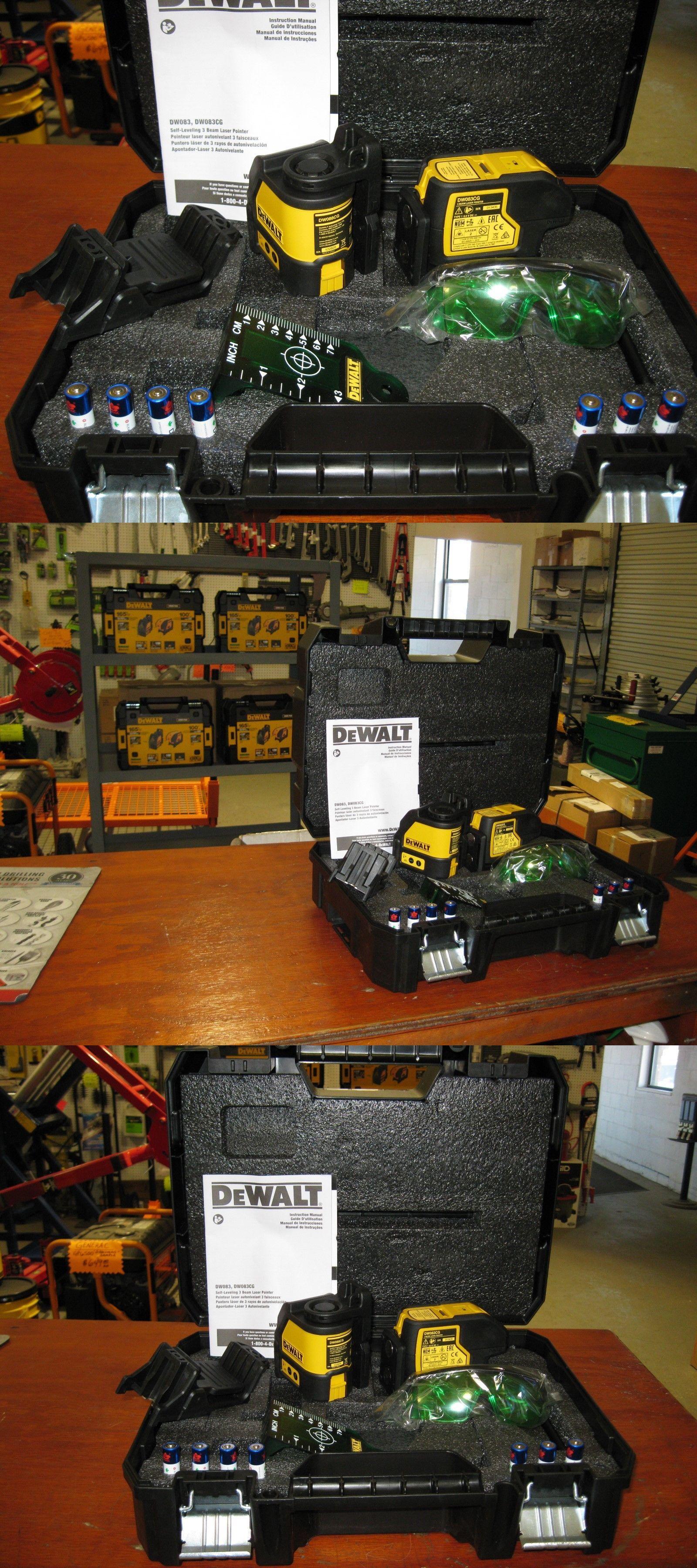Laser Measuring Tools 126396 Dewalt Dw0883cg Tstak Laser Kit W Cross Line And 3 Spot Lasers New Buy It Now Only 308 Dewalt Combo Kit Measuring Tools