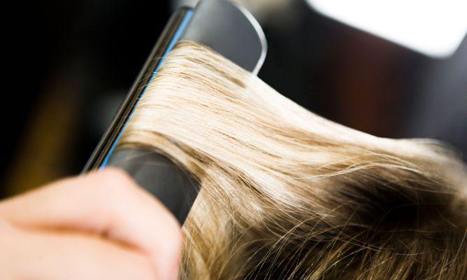 Planchas de pelo: protege tu cabello