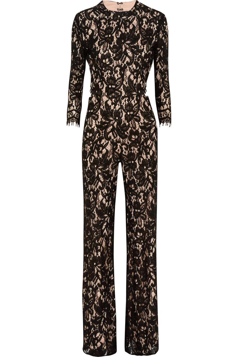 401c365bb68 ALEXIS Richard corded lace jumpsuit.  alexis  cloth  jumpsuit ...