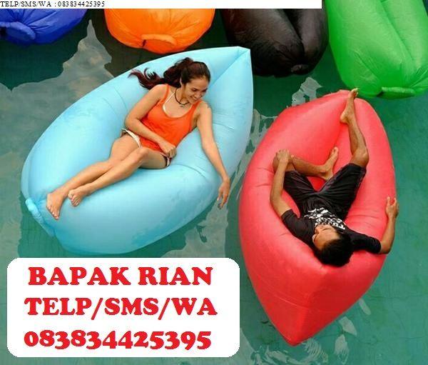 Jual Lazy Bag Lay Inflatable Sofa Beach