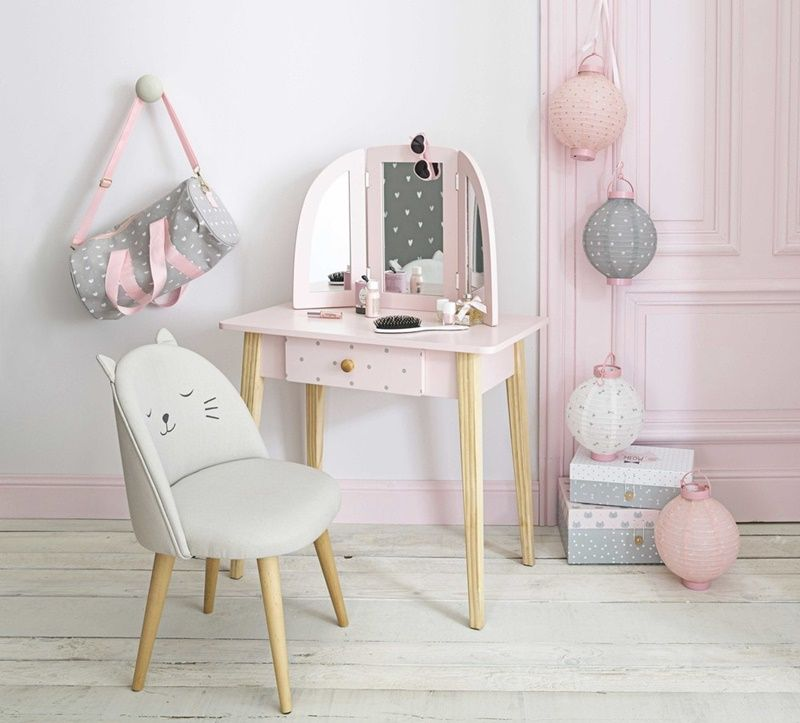 inspiraci n en la colecci n junior de maisons du monde la coleccion inspiraci n y tocador. Black Bedroom Furniture Sets. Home Design Ideas