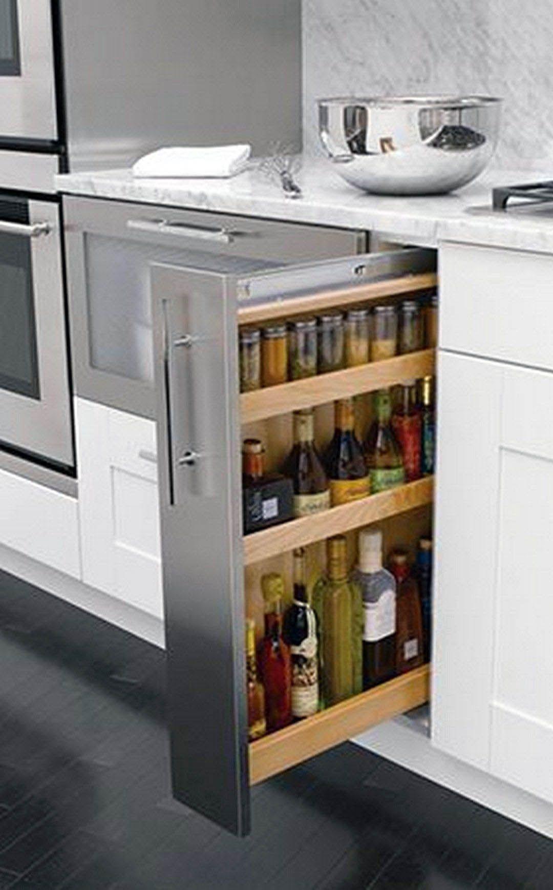 Inspirational Kitchen Cabinet Storage Solutions Amazon Just On Smart Homefi Design Diy Kitchen Storage Hidden Kitchen Kitchen Storage Solutions