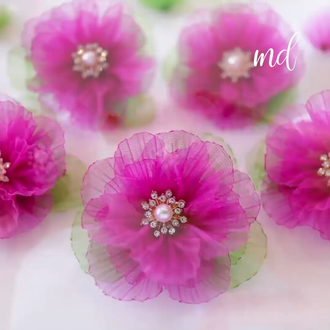 DIY FLOWER #flowerfabric